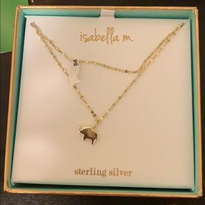 Isabella M. elephant necklace